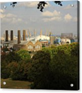 View From Greenwich Park Acrylic Print