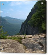 View From Hickory Nut Gorge Nc Acrylic Print