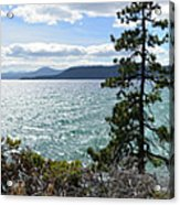 View From Incline Village Acrylic Print
