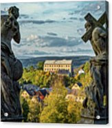 View From Kuks Hospital - Czechia Acrylic Print