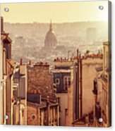 View From Montmartre Acrylic Print