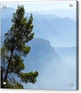 View From Montserrat, Spain Acrylic Print