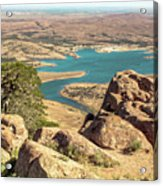 View From Mt Scott Acrylic Print