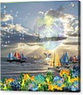 View From My Lanai-iii Acrylic Print