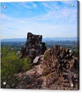 View From Piestewa Peak Acrylic Print