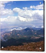 View From Pikes Peak 1964 Acrylic Print