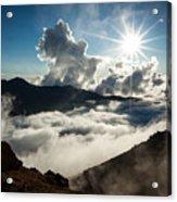 View From Ptarmigan Peak Acrylic Print