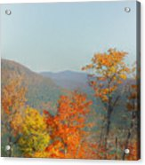 View From Sunday River Acrylic Print