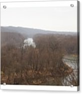 View From The Bluff Acrylic Print