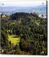 View From The Griffith Observatory 0792 Acrylic Print