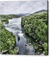 View From The Monksville Bridge Acrylic Print