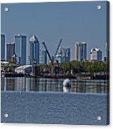 View From The Port Acrylic Print