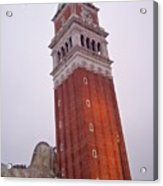 View From The Top Of St Marks Basilica Acrylic Print