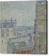 View From Theo S Apartment Paris, March - April 1887 Vincent Van Gogh 1853  1890 Acrylic Print