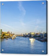 View From Tower Bridge Acrylic Print