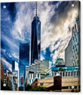 View From Tribeca Acrylic Print