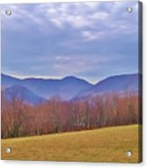 View From Von Trapps Lodge 2 Acrylic Print