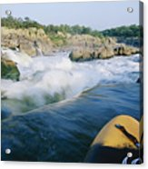 View From Whitewater Kayak At The Top Acrylic Print