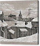 View From Window. Kiev Acrylic Print