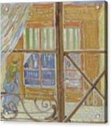 View Of A Butcher S Shop Arles, February 1888 Vincent Van Gogh 1853  1890 Acrylic Print