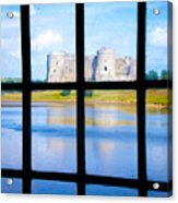 View Of A Wales' Castle Acrylic Print