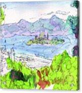 View Of Alcatraz Acrylic Print