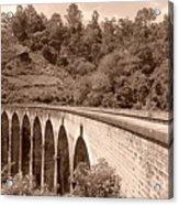 View Of Ancient Bridge Acrylic Print