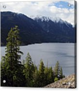 View Of Anderson Lake Acrylic Print by Pierre Leclerc Photography