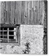 View Of Barn Exterior Acrylic Print