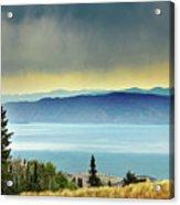 View Of Bear Lake Acrylic Print by Utah-based Photographer Ryan Houston