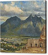 View Of Bishop's Palace Near Monterrey  Acrylic Print