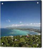 View Of Boracay Island Tropical Coastline In Philippines Acrylic Print