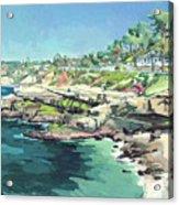View Of Brockton Villa, La Jolla, California Acrylic Print