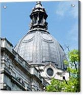 View Of Brompton Oratory Dome Kensington London England Acrylic Print