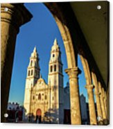 View Of Cathedral And Arches Acrylic Print