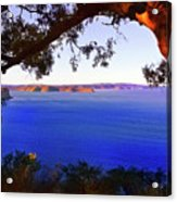 View Of  Central Coast From West Head  Acrylic Print