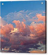 View Of Clouds In The Sky Acrylic Print