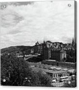 View Of Edinburgh Acrylic Print
