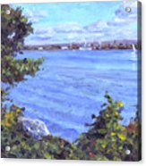 View Of Erie Acrylic Print