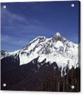 View Of Garibaldi Mountain Acrylic Print