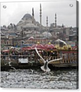 View Of Istanbul Acrylic Print