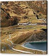 View Of Kleine Scheidegg Acrylic Print