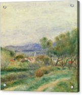 View Of La Seyne Acrylic Print