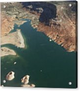 View Of Lake Powell Acrylic Print