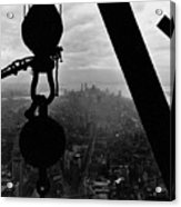 View Of Lower Manhattan From The Empire State Building Acrylic Print