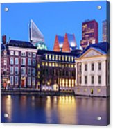 View Of Mauritshuis And The Hofvijver - The Hague Acrylic Print
