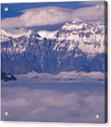 View Of Mount Everest In Nepal Acrylic Print