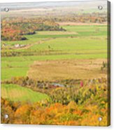 View Of Ottawa Valley In Autumn 13 Acrylic Print