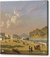 View Of Palermo 1845, Robert Salmon Acrylic Print