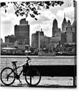 View Of Philadelphia  Acrylic Print by Andrew Dinh